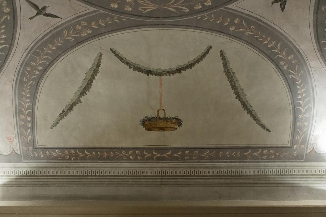 Bagni di Pisa Palace & Spa: dettaglio affresco