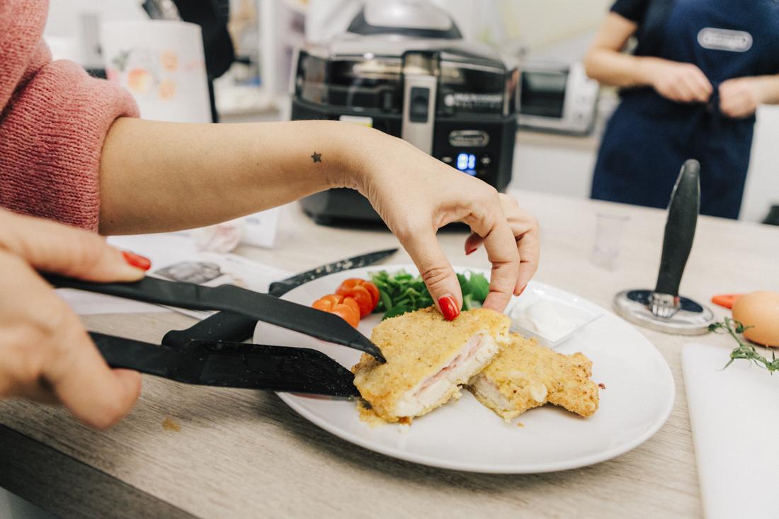 Multicooker De'Longhi:, ricetta del cordon bleu