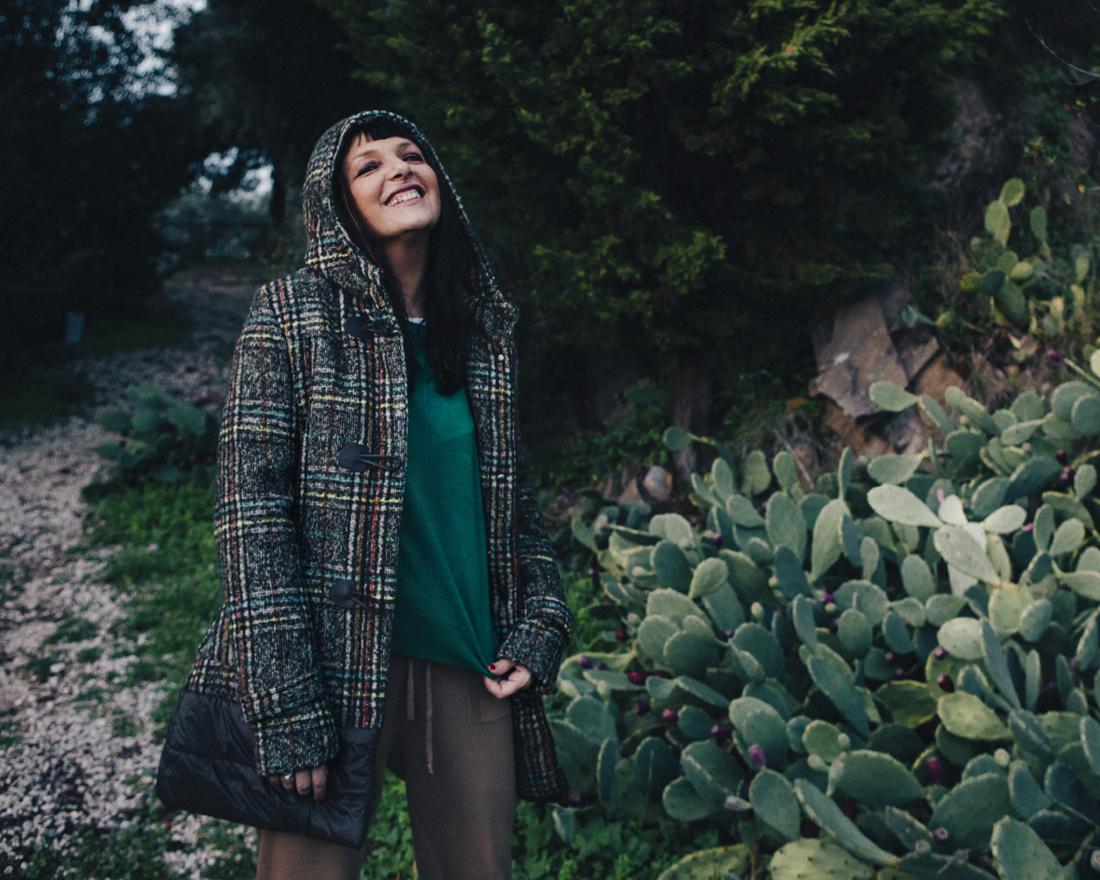 Punto12official, cappotto piumino, Sandra Bacci