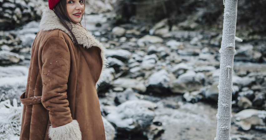 Come vestirsi con stile quando fa molto freddo?
