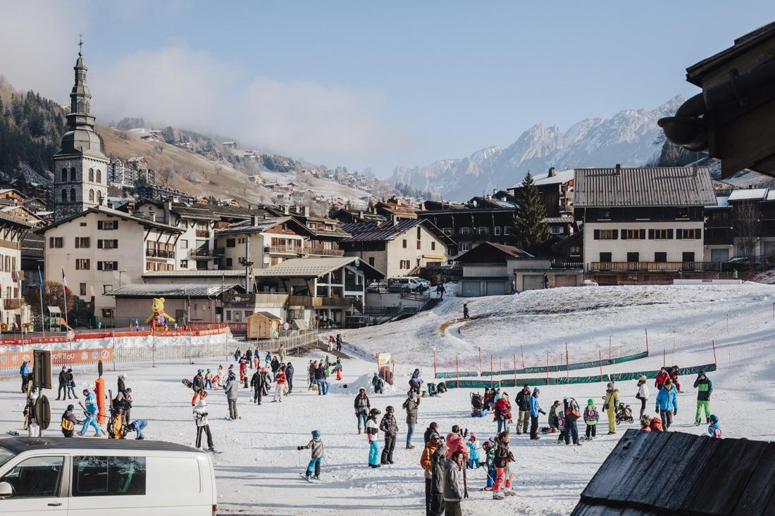La Clusaz- pista da sci