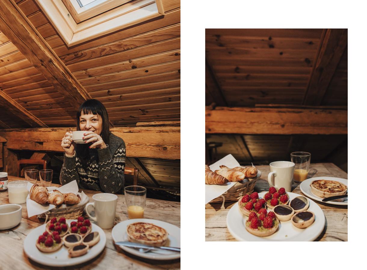 Chalet Grand Essert-alta Savoia-colazione