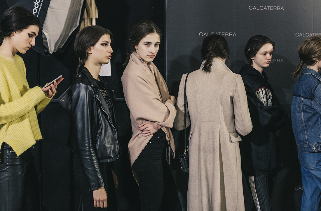 Calcaterra FW1718 -Backstage