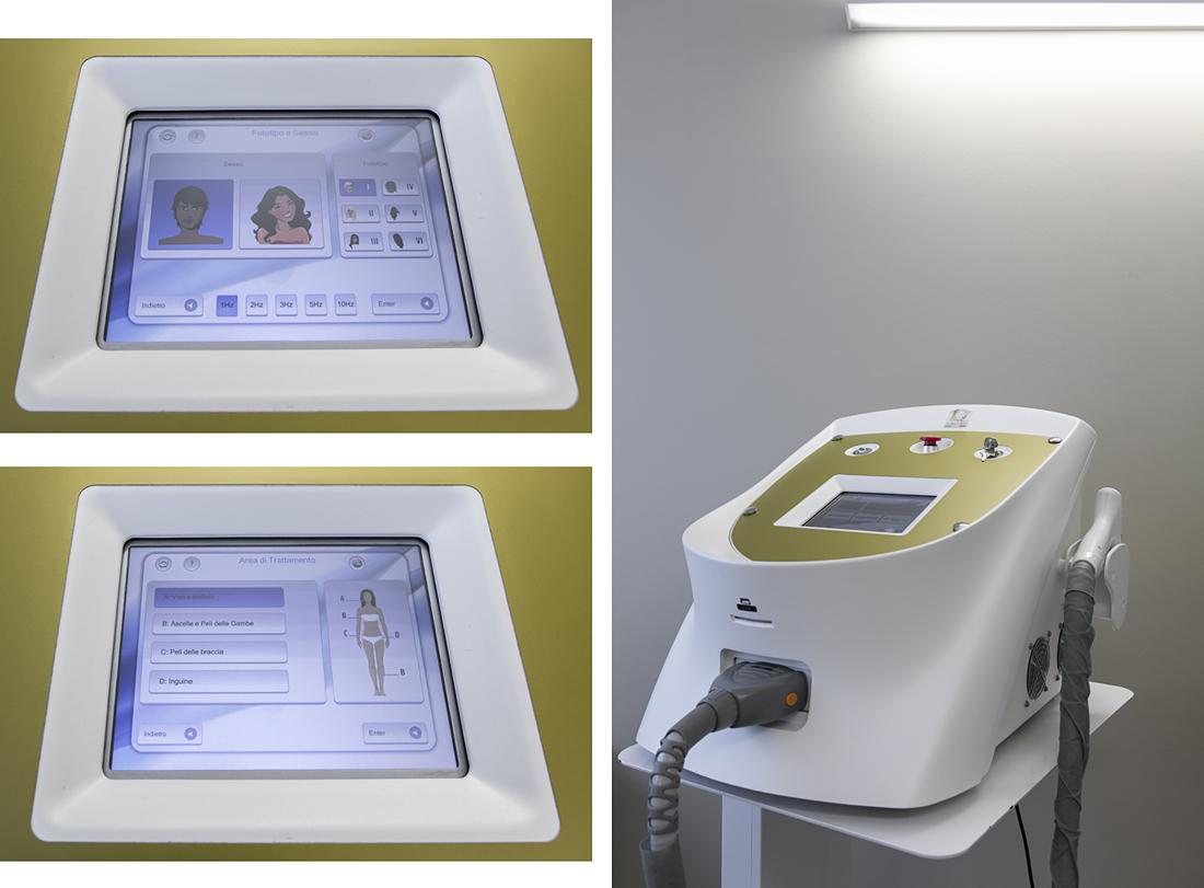 Epilazione Laser a diodo-SandraBacci-cavia contenta- centro medico martini-apparecchiatura medicale