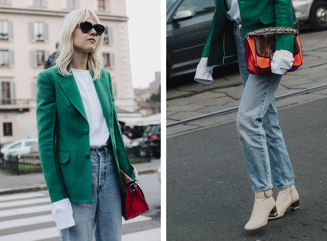 Linda Tol, Street style - Best of MFW Fall Winter 2017/2018