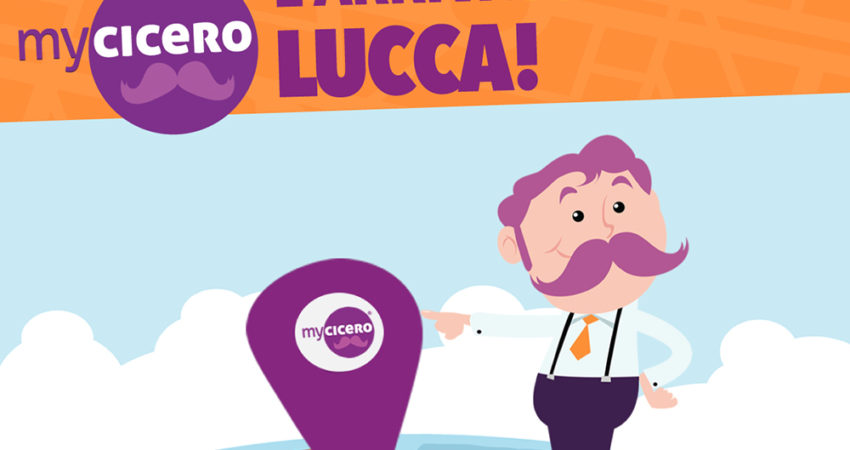 myCicero App. Stop alle multe sulle strisce blu anche a Lucca