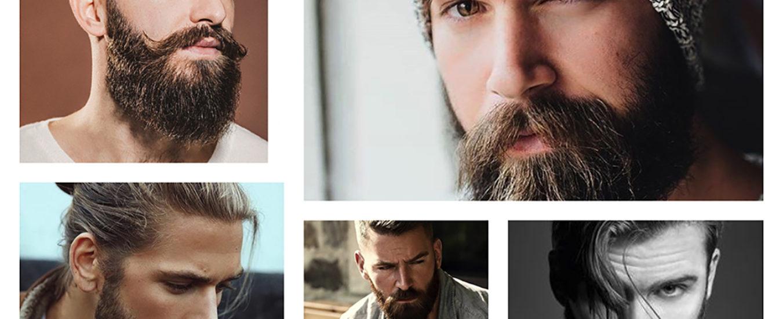 Uomo barbuto sempre piaciuto
