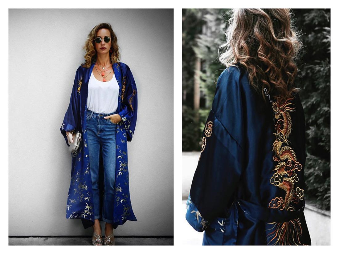 come abbinare il kimono, Giulia Bruni