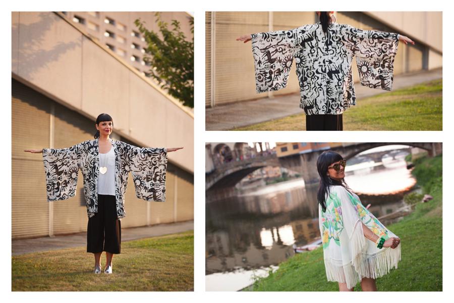 come abbinare il kimono, Sandra Bacci