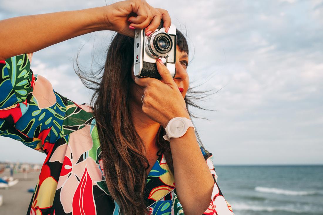 Swatch Skin Nude, sunset, macchina fotografica
