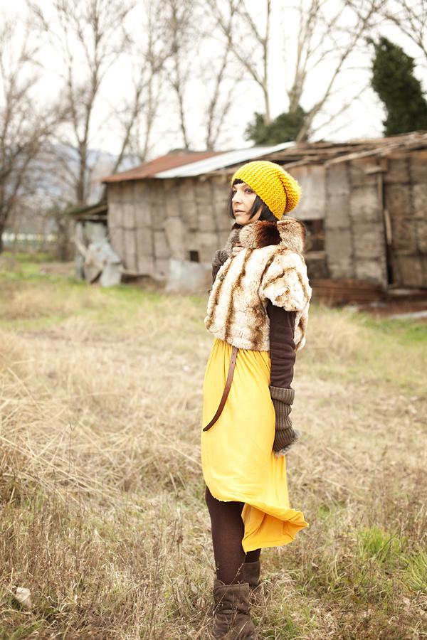 vestito asimmetrico