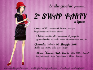 Smilingischic  Locandina Swap Party Lucca
