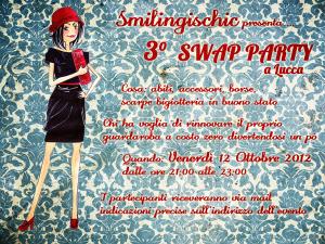Smilingischic Sandra Bacci locandina 3° Swap Party