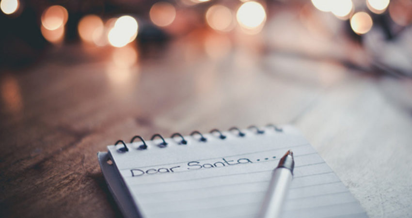 Dear Santa Claus… I don't have a wish list
