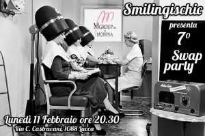 smilingischic, fashion blog, swap party, swap party a Lucca, banner, Morena Acconciature