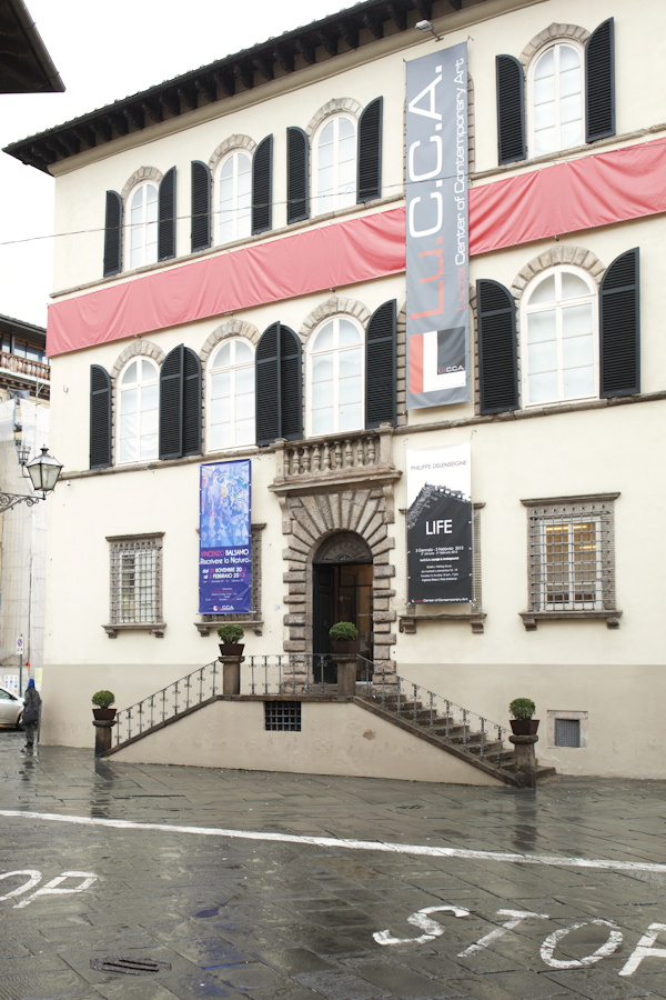 Smilingischic, fashion blog, One Sunday at a Museum, Palazzo Bocella,  Lu.C.C.A. Lucca Center of Contemporay Art