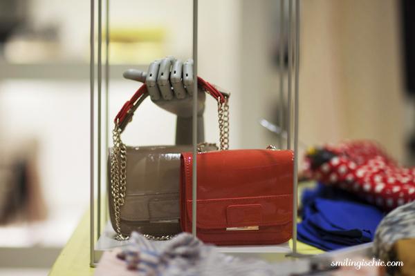 Smilingischic, fashion blog, collezione primavera estate 2013 Max & Co, negozio Lucca, borse a tracolla