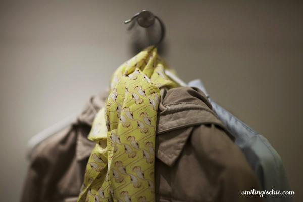 Smilingischic, fashion blog, collezione primavera estate 2013 Max & Co, negozio Lucca , foulard a piccole stampe