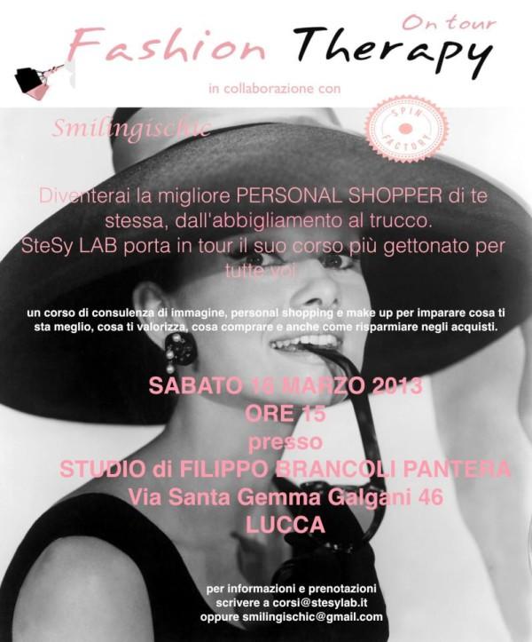Smilingischic, fashion therapy , evento a Lucca, come diventare una personal shopper per noi stesse, SteSy