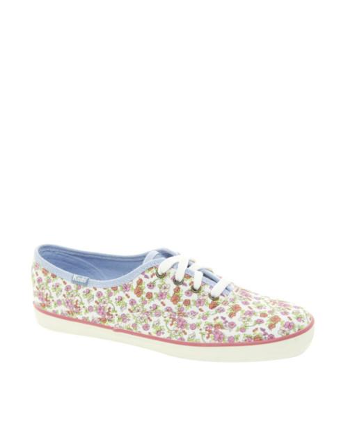 scarpe da ginnastica in tela a fiori, Keds. Asos,