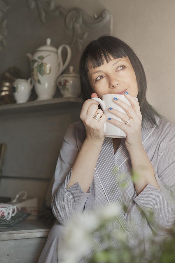 Smilingischic, fashion blogger, please do not call it pajamas, testimonial brand Gilla C.M. , pigiami sartoriali, breakfast at home,