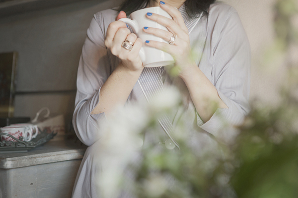 Smilingischic, fashion blogger, please do not call it pajamas, testimonial brand Gilla C.M. , pigiami sartoriali, breakfast at home