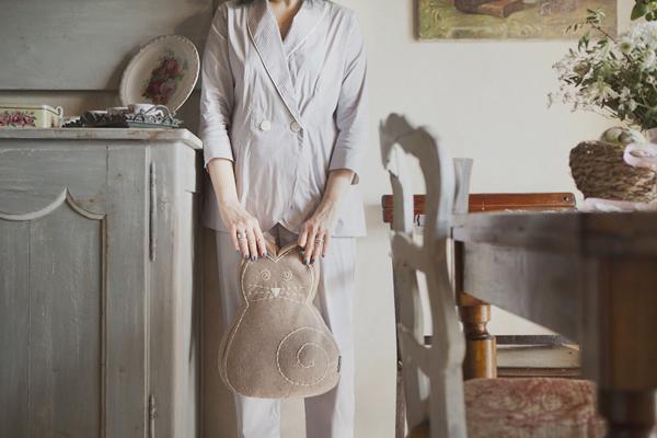 Smilingischic, fashion blogger, please do not call it pajamas, testimonial brand Gilla C.M. , pigiami sartoriali, orsacchiotto