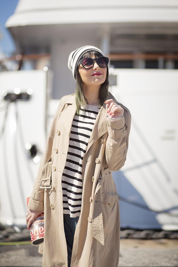 Smilingischic, fashion blog, Sandra Bacci, striped style