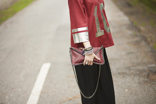 Smilingischic, fashion blog, 10 thinks that make me feel good, Asos, Asos t -shirt with Foil number 10, Asos L Beanie, smile