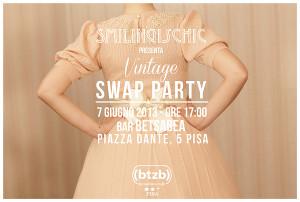 Smilingischic, fashion blog, locandina, Swap Party, Vintage Swap Party, eventi