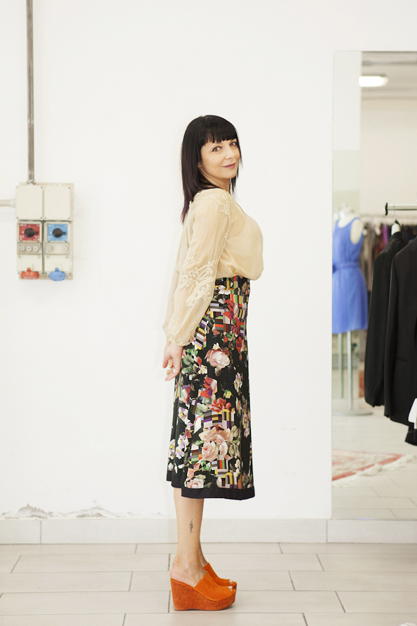 Smilingischic, fashion blog, outfits for temporary store , outlet, Lucca, gonna Paul Smith, outfit