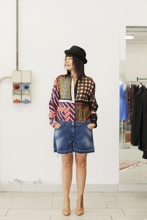 smilingischic, fashion blog, temporary store, outlet, Lucca , jumpsuit D&G