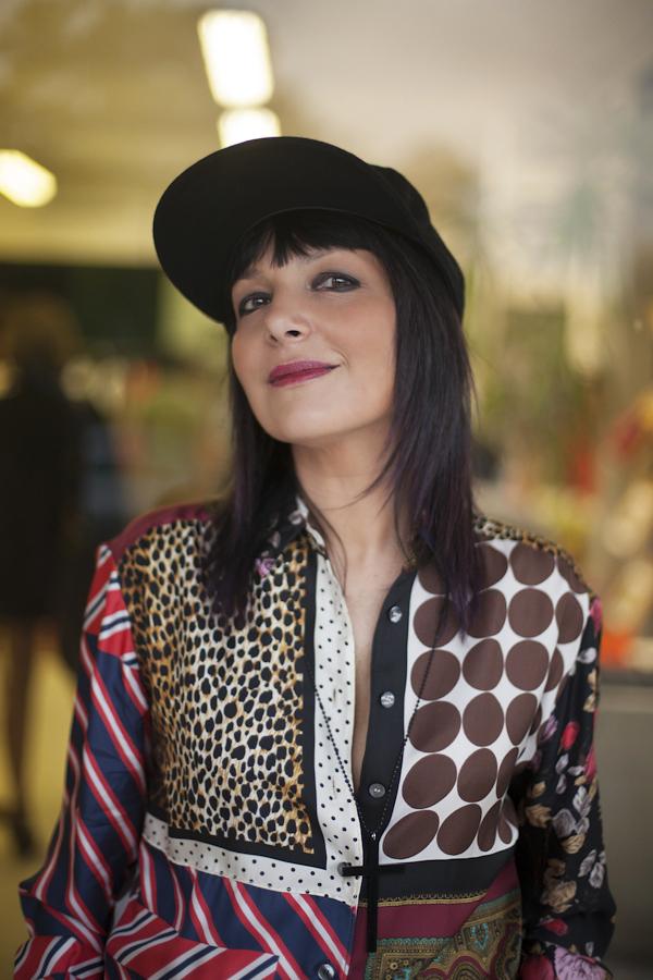Smilingischic, fashion blog, Sandra Bacci, Temporary store 1515, jumpsuit D&G , baseball cap