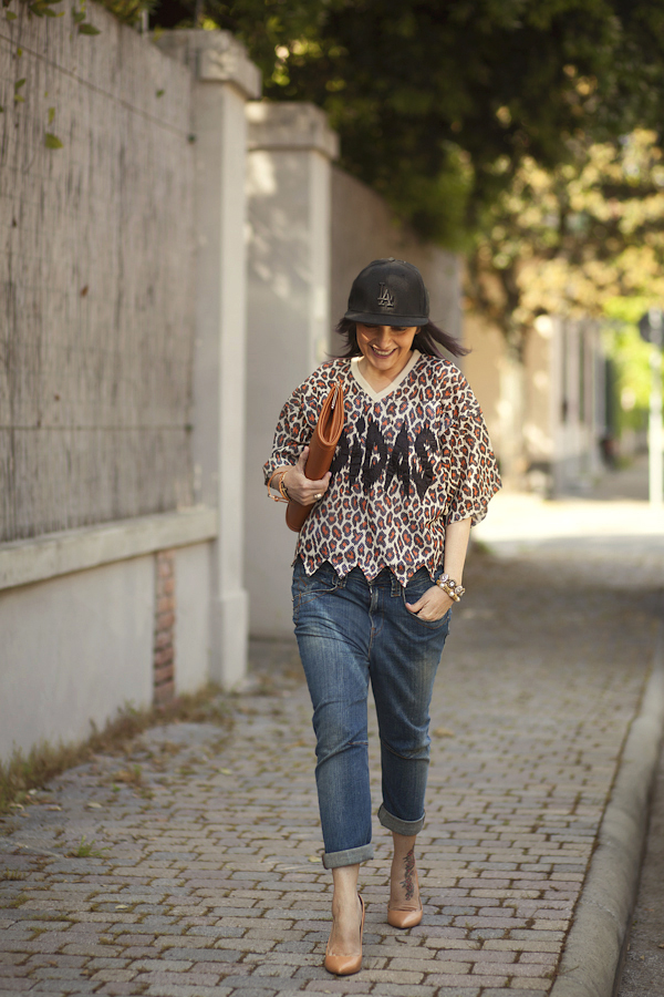 Smilingischic, fashion blog, outfit, streestyle, Jeremy Scott collezione S/2013, stampa animalier pop,