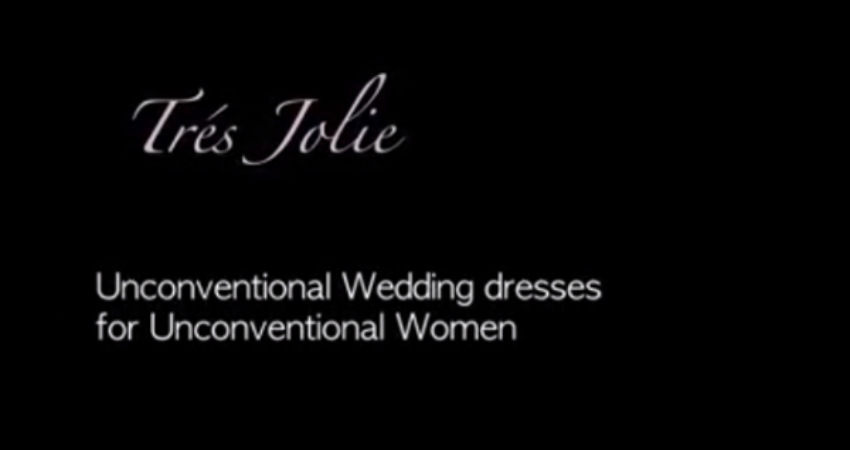 Unconventional Wedding Dresses for Unconventional Women | Backstage Video