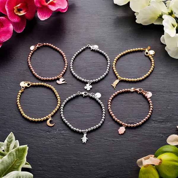 Jack & Co, gioielli in argento, made in italy , braccialetti con ciondolino