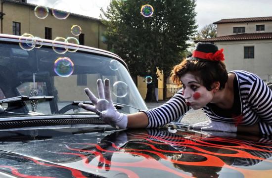 Secret Garden, Noi per Voi, Meyer, Serra torrigiani, Firenze,  Clown car