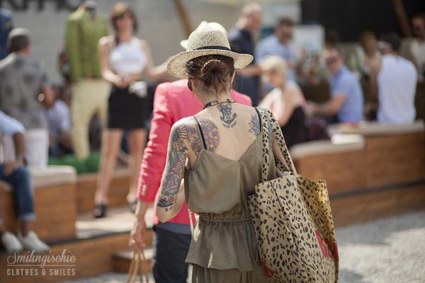 Smilingischic, fashion blog, streestyle, Pitti, Pitti 84, Firenze, Fortezza da Basso, tattoo, tattoo a Pitti,
