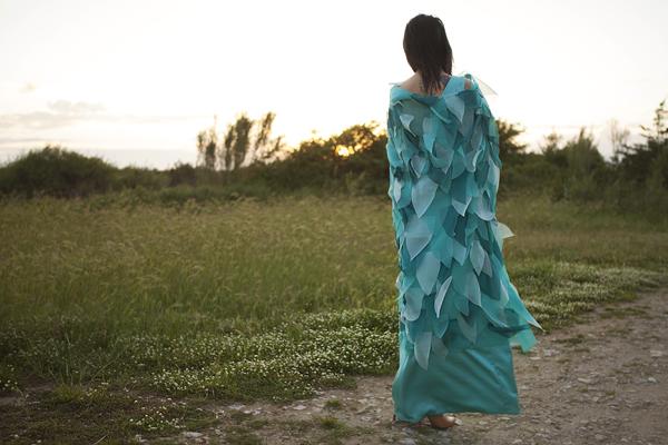 smilingischic, fashion blog, long dress, abito trasformista, abito con petali, istituto professionale Abbigliamento e Moda, Matteo Civitali, Lucca