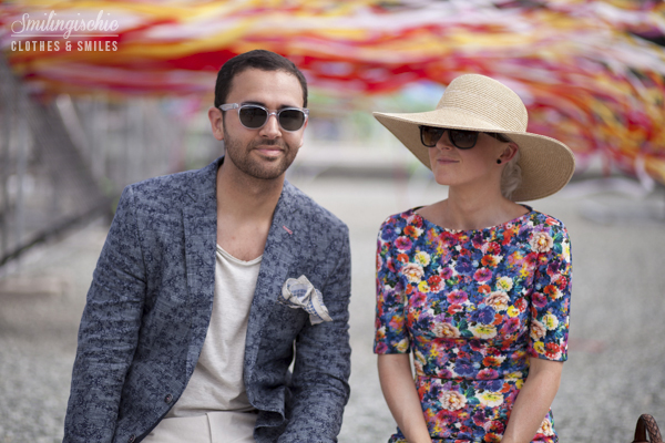 smilingischic, fashion blog, streestyle, couple, man and woman', loving in Pitti84