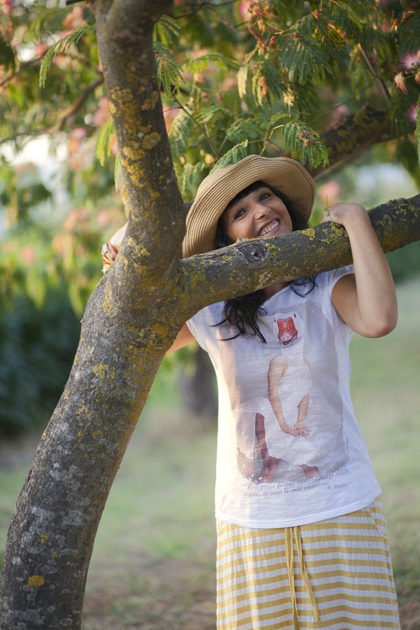 smilingischic, fashion blog, smile, outfit, natural style, walking on a dream, Manymal,  t-shirt,