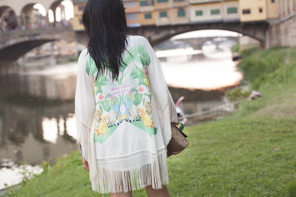 smilingischic, Outfit, canottieri Arno, Firenze, kimono