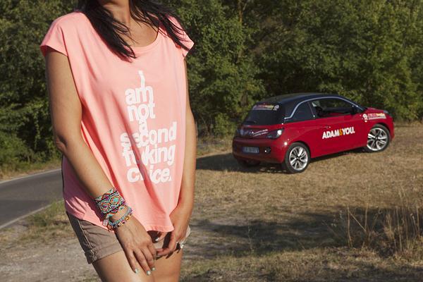 Smilingischic, fashionblog, Lucca, Driving is chic, recensione opel adam , city car,