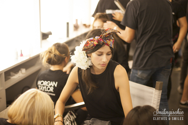 smilingischic, Stella Jean, MFW , S/S2014, backstage, make-up,