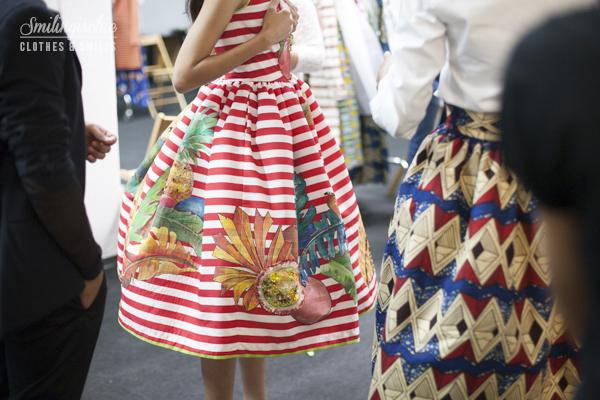 smilingischic, fashion blog, backstage Stella Jean, MFW , models,  fashion show, sfilata, settimana della moda milanese, stilista Sella Jean ,