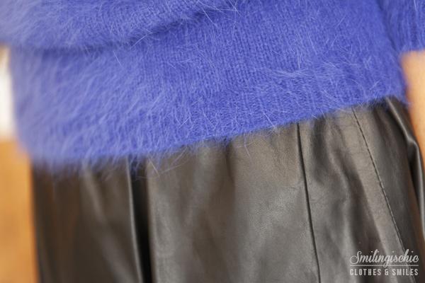 smilingischic, fashion blog, Moi Je Joue Tonfano atelier, nuova collezione Autunno Inverno 2013/2014, dettaglio colori, mohair bullette,