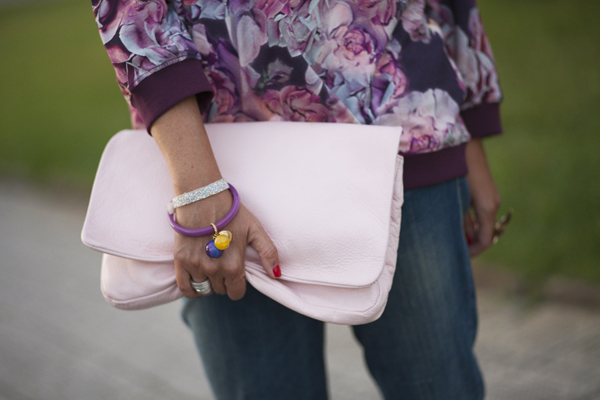 Smilingischic, fashion blog, dettagli felpa, colore amarena,  Motivi , F/W 20132014 Motivi, Cose Vane,