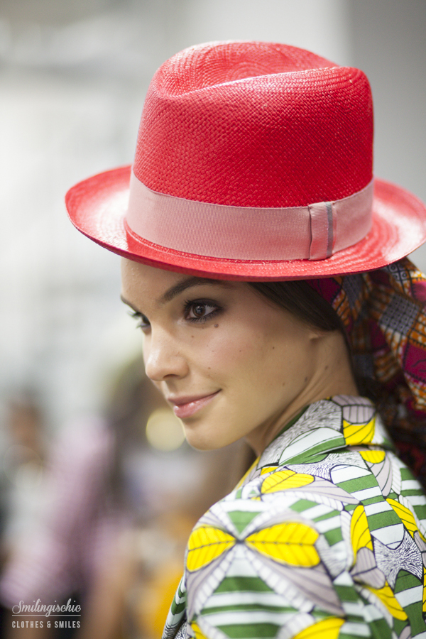 smilingischic, fashion blog, backstage Stella Jean, MFW , models,  fashion show, sfilata, settimana della moda milanese,