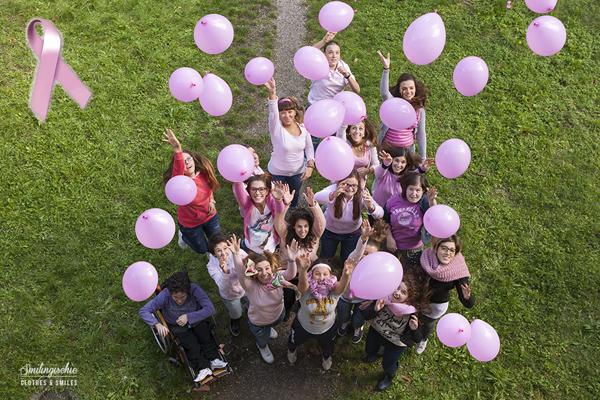 Smilingischic, fashion blog, prevenzione tumore al seno, mese della prevenzione, Italian bloggers united, i want my future, lancio di palloncini rosa,