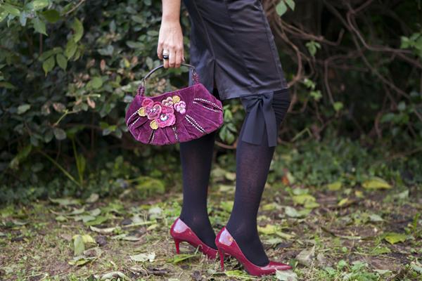 smilingischic, fashion blog, outfit, Nara Camicie, magenta, pizzo, la stega innamorata, dolcetto o scherzatto, outfit per halloween